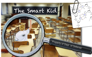 Current book cover image for The Smart Kid